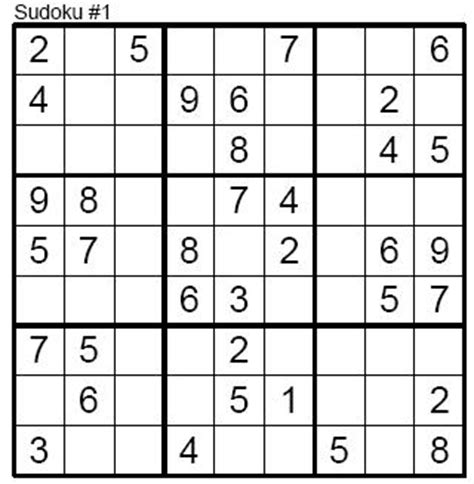 printable sudoku puzzles level 1 of 8 the game i play sudoku easy level 001