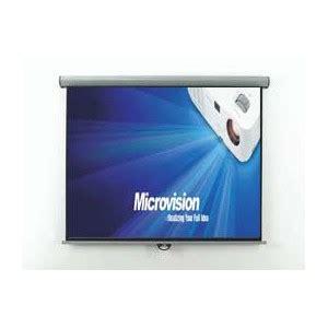 Screenlayar Projector Manual 70 178 Cm X 178 Cm screen projector microvision 187 layar microvision
