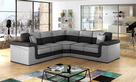 grey and white corner sofa huge sale new large symphony leather fabric corner sofa