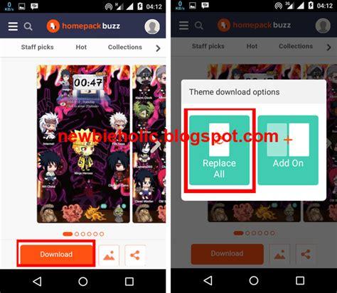 download tema line android naruto cara menggunakan tema naruto di semua hp android