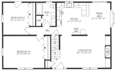 cape cod house plans open floor plan c121021 2 by hallmark homes cape cod floorplan