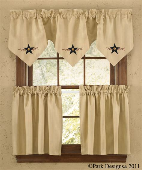 Park Designs Curtains Park Designs Vine Lined Point Valance