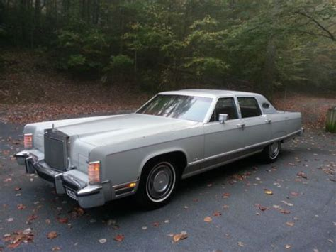 lincoln continental 77 purchase used 1977 77 lincoln continental towncar town car