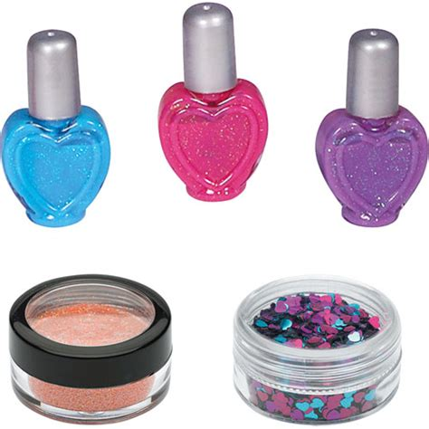 Original Focus Nail Glitz Choking Hazard Nail Kuku Palsu 3d glitter nail cheeky monkey toys