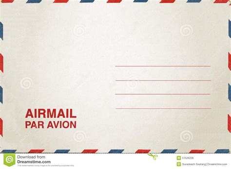 airmail postcard template airmail postcard stock photo image 51526228