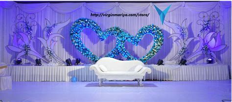 Indian Home Wedding Decor stage decoration virgin mariya store