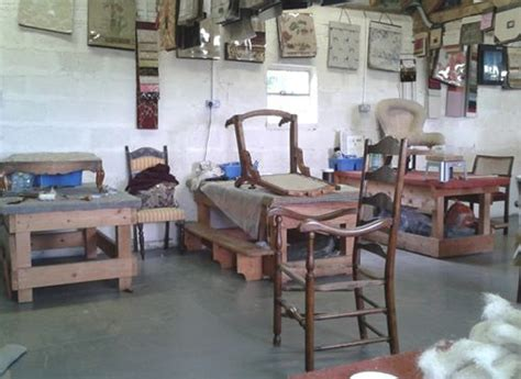 The Traditional Upholstery Workshop - learning new skills at the traditional upholstery workshop