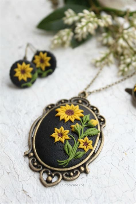 best clay for jewelry 17 best ideas about polymer clay necklace on