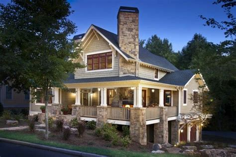 Craftsman House Plans With Wrap Around Porch House Craftsman With Wrap Around Porch Http Www Houzz Photos 611157 Craftsman Home