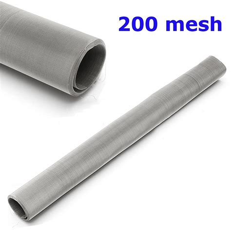 bettdecke 200 x 200 200 mesh 304 stainless steel filtration woven wire screen