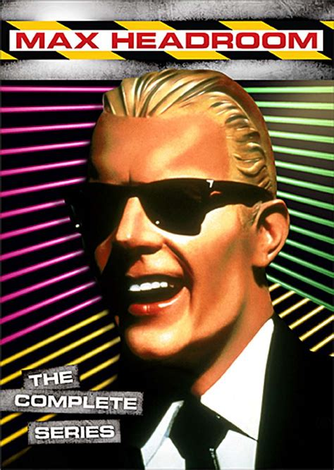 what of is max what is it max headroom the complete series 14 hour