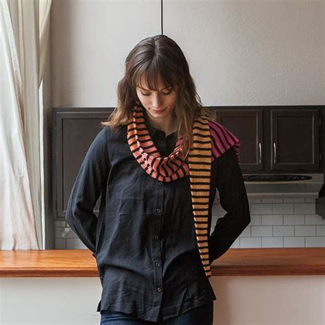 gradient scarf knitting patterns and crochet patterns