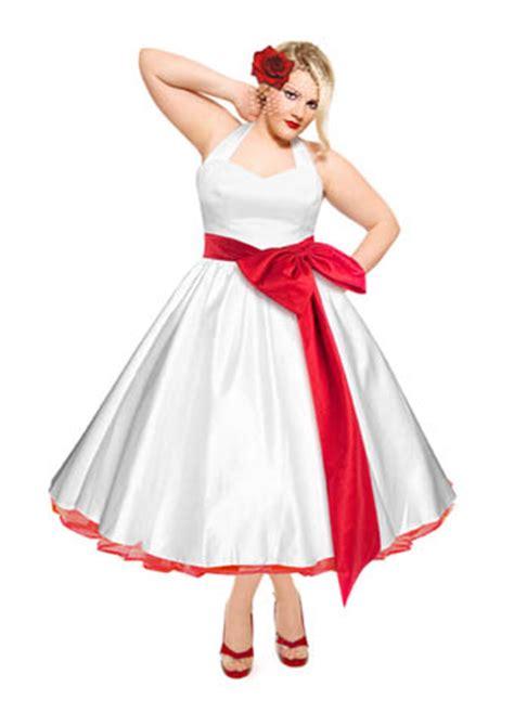50 s style wedding dresses plus size wedding fashion for plus sized brides 183 rock n roll bride