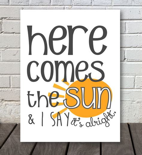 Here Comes The by Here Comes The Sun