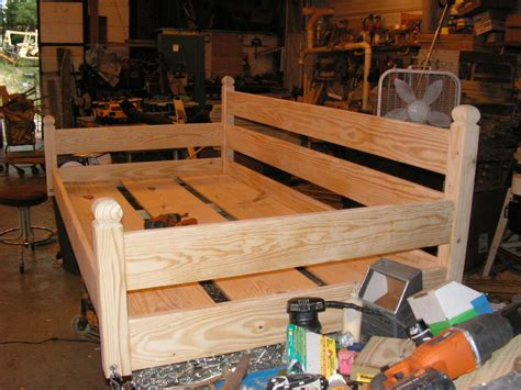 swing bed plans custom ordered swing bed by built2last lumberjocks com