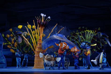 """Finding Nemo The Musical   Making a """"splash"""" on stage in a"""