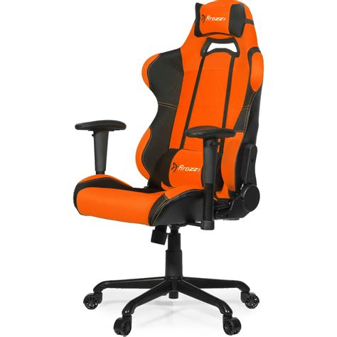 Orange Gaming Chair by Arozzi Torretta Gaming Chair Orange Artgcorn B H Photo