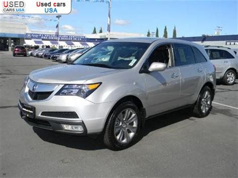 for sale 2010 passenger car acura mdx advance