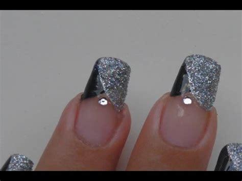 nail art tutorial how to create a glitter gradient using party glitter nail art tutorial youtube