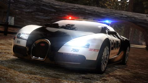 Nfs Bugatti Veyron Police Car Hd Wallpaper Wallpapers