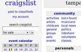 stumblers who like craigslist ta bay area classifieds