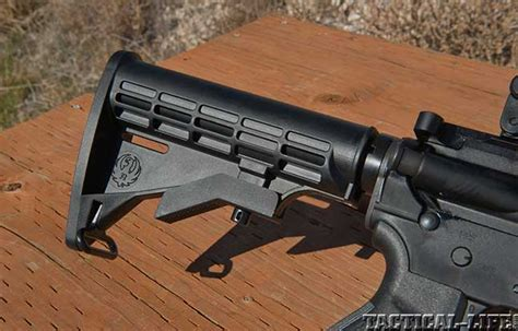 Mba 3 Stock On Ruger Ar 556 by Sneak Peek On The New Direct Impingement Ruger Ar 556
