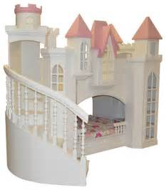 castle bed for castle bed w wraparound staircase traditional