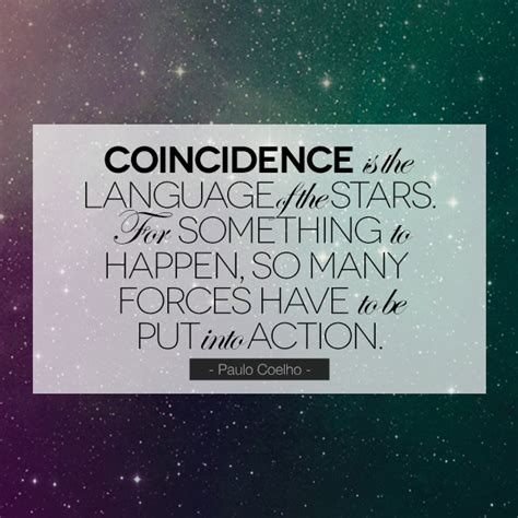 The Coincidences synchronicity quotes quotesgram