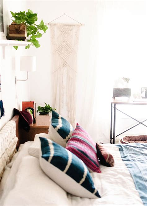 home tour mid century bohemian at the picadilly why this bedroom is a modern bohemian masterclass