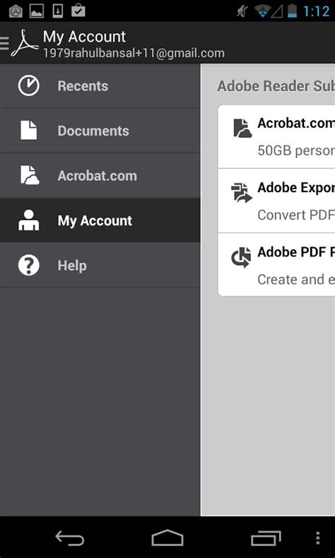 adobe reader for android adobe reader xl for android free softwares