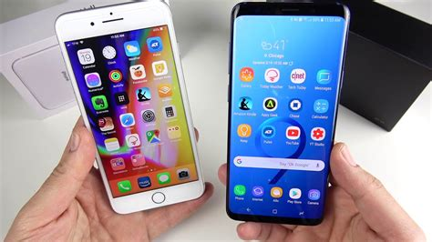 iphone    galaxy   full comparison youtube