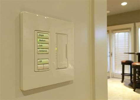 home lighting systems keypads throughout the house maintain consistent labeling