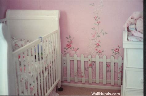 shabby chic wall mural nursery wall murals by colette baby nursery wall murals