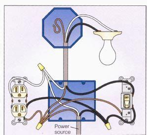 light with outlet 2 way switch wiring diagram kitchen
