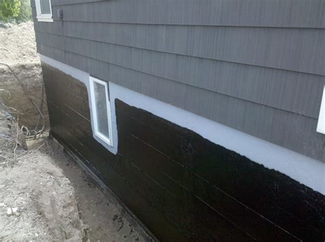 exterior foundation waterproofing home design ideas and