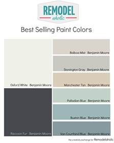 paint shades remodelaholic most popular and best selling paint colors