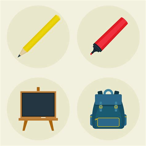 design icons in illustrator how to create school supply icons in adobe illustrator