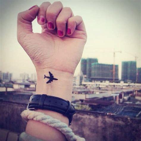 plane tattoo pinterest inknart temporary tattoo 2pcs little airplane wrist by