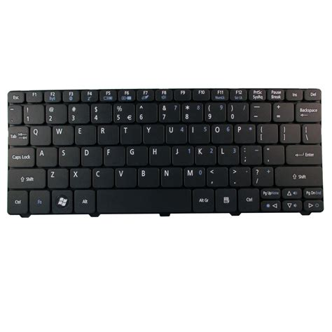 keyboard acer aspire one happy 532h d255 d260 black