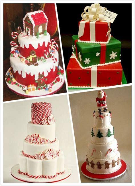 Christmas themed Wedding Cake ? OOSILE