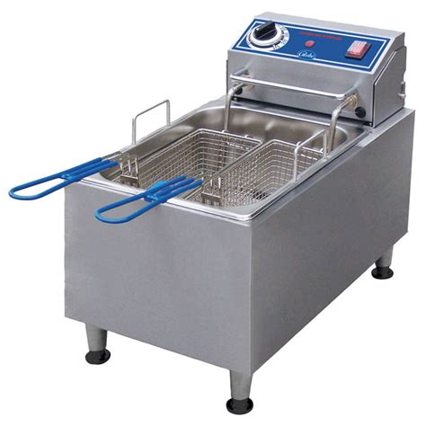 Electric Countertop Fryer by Globe 10 Lb Electric Countertop Fryer 11 1 10w