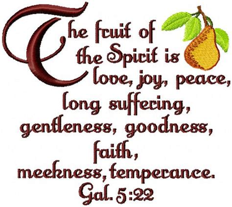 fruit of the spirit kjv coffee cup embroidery design 2017 2018 best cars reviews