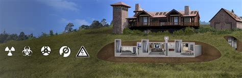 survival homes bomb shelter underground and survival shelters hardened