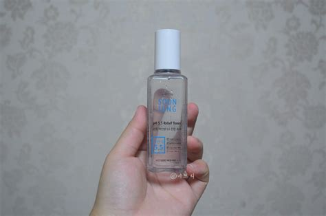 Etude Soonjung Ph 5 5 Relief Toner empties review etude house o le mong one morning gel