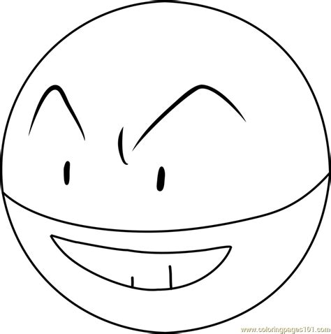 pokemon coloring pages voltorb electrode pokemon coloring pages smooth colorin within