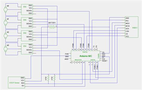 quadcopter esc wiring diagram wiring diagram with