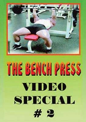 chris confessore bench press the bench press video special 2 digital download gmv