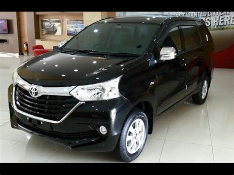 2015 Toyota Grand New Avanza toyota grand new avanza facelift 2015 review exterior and