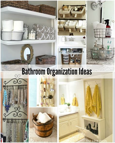 Organizing Bathroom Ideas Bathroom Organization Tips The Idea Room