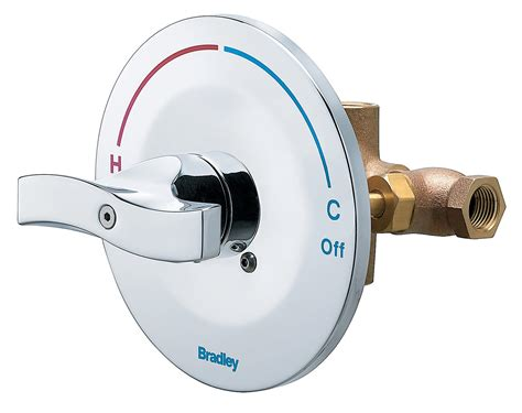 Shower Valve by Equa Flo C5 Pressure Balancing Valve Bradley Corporation